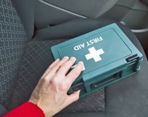 remove first aid kit before you sell your junk vehicle